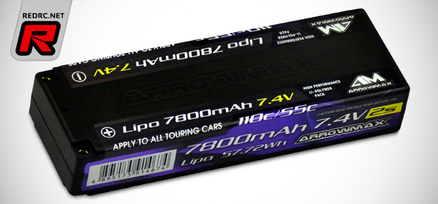 Arrowmax 7800mAh 2S LiPo hardcase battery pack