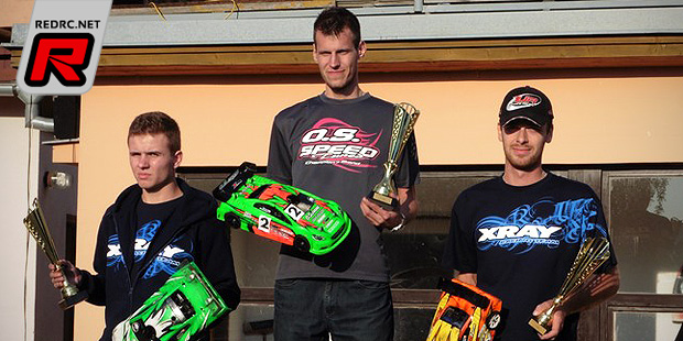 Jirka Vysin takes Czech 200mm title at final round