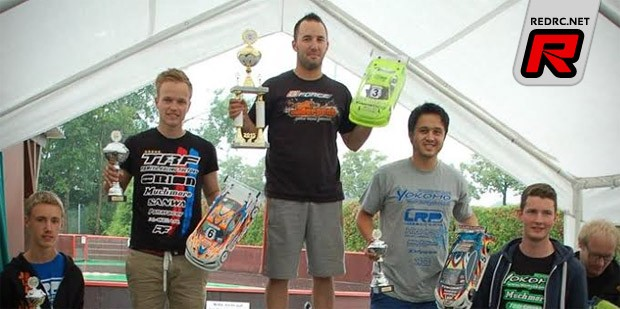Marc Fischer is German ISTC Champion