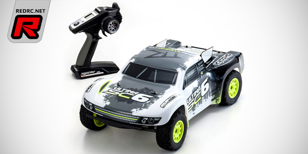 Kyosho Ultima SC6 Readyset 2WD short course truck