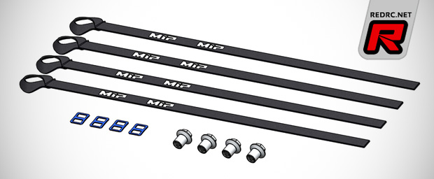 MIP 1/5th scale limiter strap set & header gasket