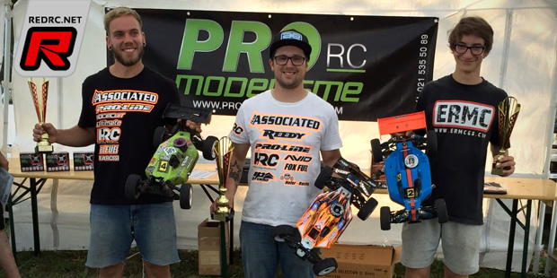 Patrick Hofer wins Swiss 1/8th Buggy Nationals Rd6