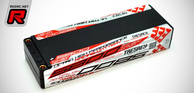 Tresrey 5800mAh 80C 2S LiPo battery pack