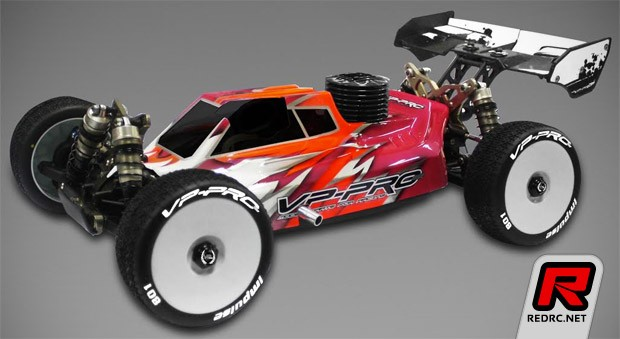 VP Pro TLR 8ight-E 3.0 body shell