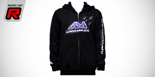 Arrowmax zipped hooded sweater