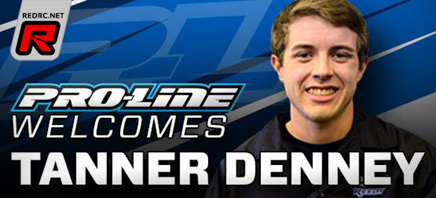 Tanner Denney teams up with Pro-Line