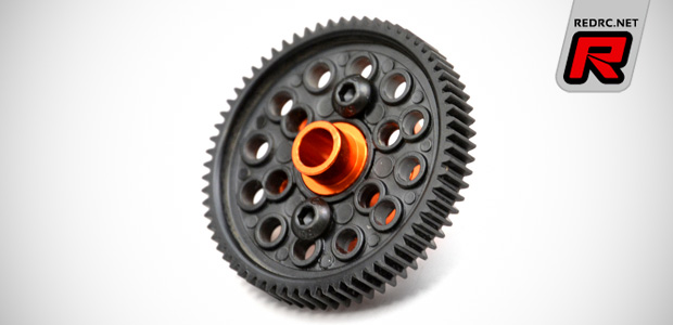 Exotek Sport 3 orange anodised alloy option parts