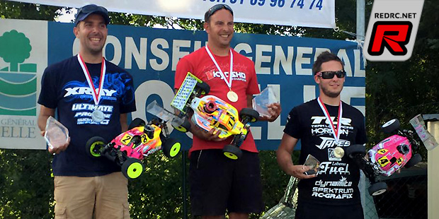 Jerome Aigoin wins French Cup 2015