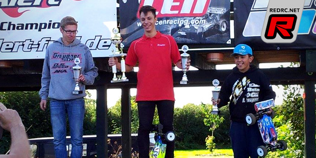 Marvin Fritschler takes German 1/8th E-Buggy title