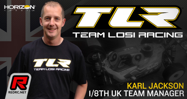 Karl Jackson appointed TLR 1/8th UK team manager