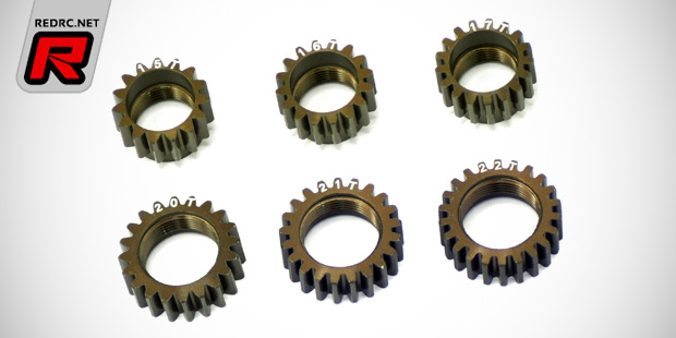 Serpent Natrix 748 hard-anodised Centax pinion gears