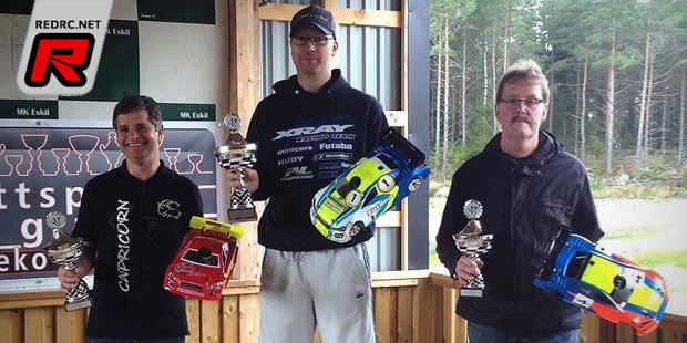 Mickael Brandt wins at Swedish On-road Cup