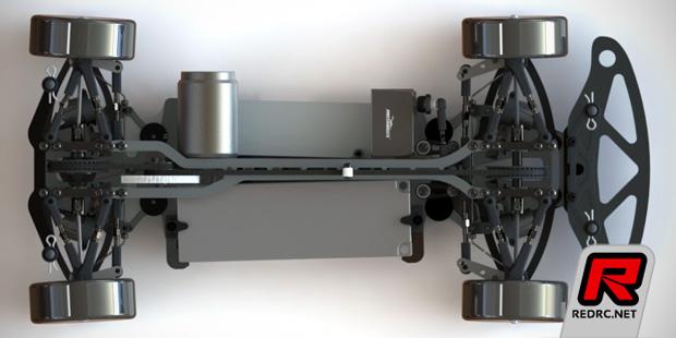 Awesomatix A800 belt-driven touring car kit