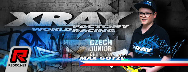 Max Götzl team up with Xray