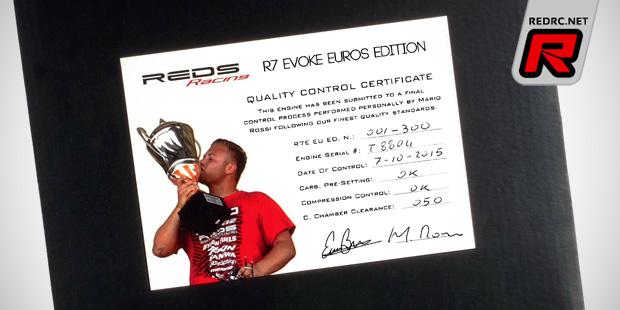Reds Racing R7E Evoke Euros limited edition engine