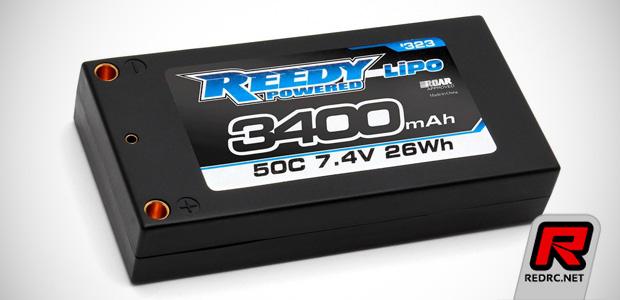 Reedy 3400mAh 50C 7.4V LP shorty LiPo battery