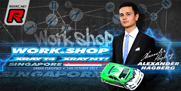 Xray Work.Shop Singapore – Announcement