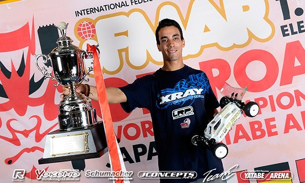 Offroad rookie Coelho is 4WD World Champion