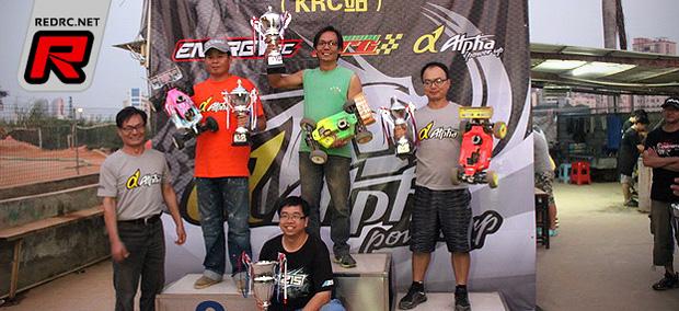 Keung wins Chinese Alpha Plus Cup