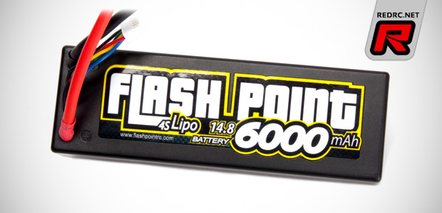 Flash Point 6000mAh 4S LiPo battery pack