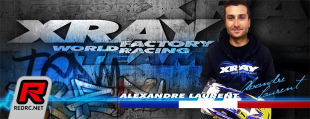 Alexandre Laurent joins Xray