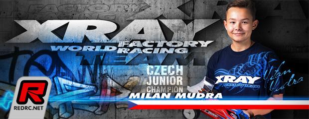 Milan Mudra joins Xray Junior team