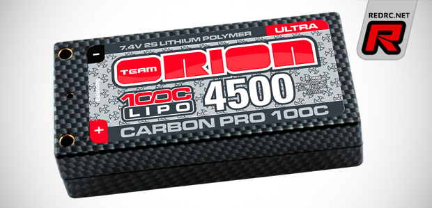 Team Orion Ultra chemistry shorty LiPo battery