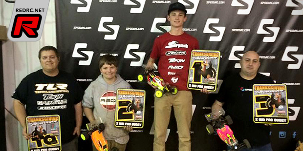 Hanna doubles at Thanksgiving Showdown race