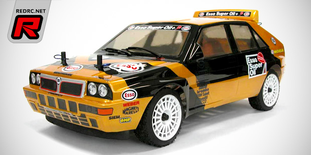The Rally Legends Lancia Delta Esso Grifone bodies