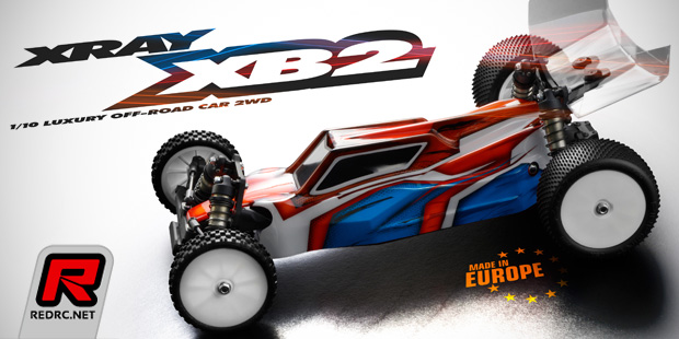 Xray XB2 1/10th 2WD electric off-road bug kit