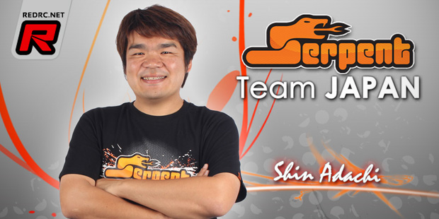 Shin Adachi joins Serpent 1/8th offroad team