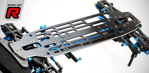 Exotek Exo-Six aluminium main chassis plate