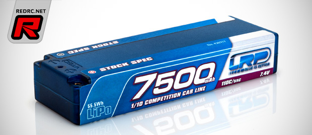 LRP CCL 7500mAh TC Stock Spec LiPo battery