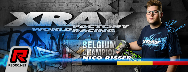 Nico Risser teams up with Xray
