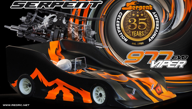 Serpent Viper 977 Evo 35th Anniversary limited edition
