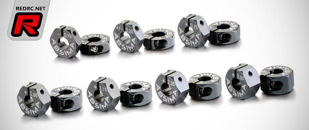 Absima 12mm aluminium hex adapters