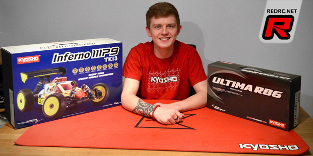 Bradley Baird teams up with Kyosho