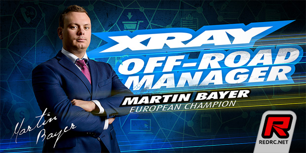 Martin Bayer appointed Xray off-road team manager