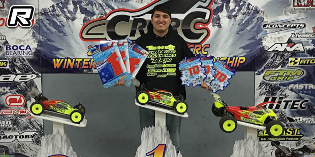 Bornhorst triples at CRCRC Winter Midwest Champs