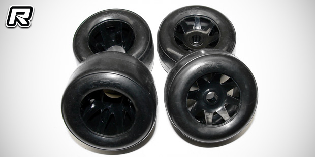 CRC pre-mounted GTR tyres & chrome pivot balls