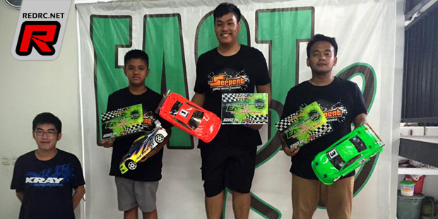 Bowie Ginting dominates East Touring Series Rd1