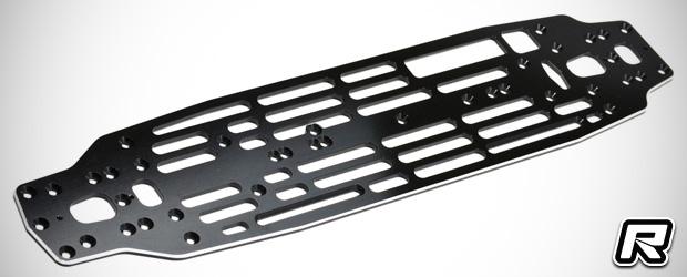 Exotek Exo-Five aluminium main chassis plate