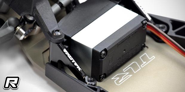 Exotek TLR22 3.0 alloy steering set & servo mounts