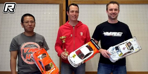 Guillaume Desbois wins at French Indoor Champs Rd3