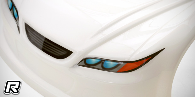 GForce touring car grille & light decals