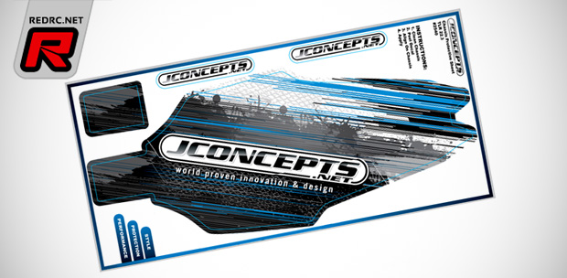 JConcepts TLR22 3.0 pre-cut chassis decal
