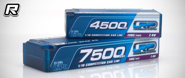 LRP Competition Car Line 2016 LiPo battery packs