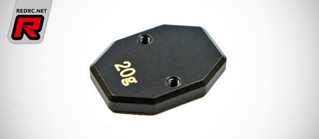 Mugen droop gauge & MBX7 balance weights
