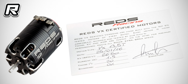 Reds Racing VX 540 Certified brushless motors
