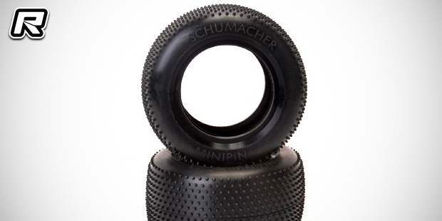 Schumacher Mini Pin 1/10th racing truck tyres